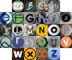 Squircle letters
