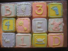 Baby Shower Cake (La Torta)