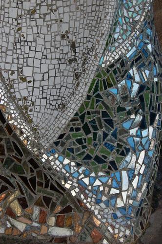 Mosaic Sculpture Watching The Washlands Mosaic Artist