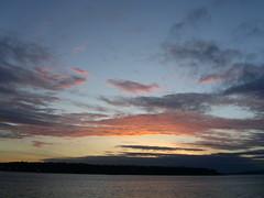 Sunset over Alki