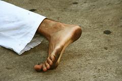 Stretched (YanivG) Tags: people foot israel telaviv dance dirt  blindness  danahirsh ivaron alhaivron