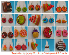Cakes - Dolci - Ptisseries (jujuly25) Tags: ceramica color art miniature diy yummy handmade craft jewellery gourmet polymerclay fimo homemade clay sweets sculpey colourful artisanal pate color cernit gourmand polymer plastica premo goloso jujuly25