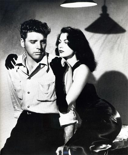 Burt Lancaster et Ava Gardner