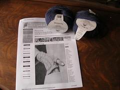 Fetching yarn and pattern
