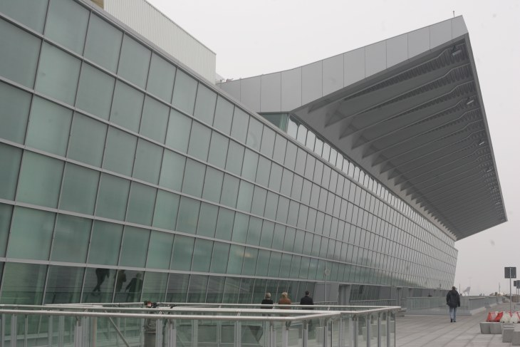 fachada cubiertas aeropuerto
