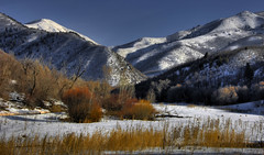 Alpine Meadow (James Neeley) Tags: winter snow mountains landscape utah nikon hdr provo 5xp