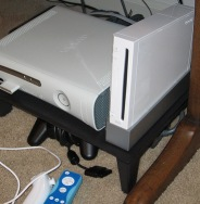 My Xbox 360 and Wii