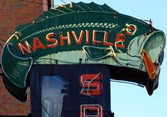 Nashville Sporting Goods (SeeMidTN.com (aka Brent)) Tags: fish sign neon nashville bass nashvilletn sportinggoods nashvilletennessee walternipper bmok thingsthatarenowgone bmok9used bmoknvsign bmokneon