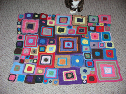 Babette's Blanket, Section 9 finished