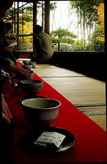 Matcha Tea Break (Sgkh) Tags: silhouette japan temple kyoto bamboo tatami   meditation ohara enlightenment     hosenin       framegarden