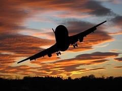 Plane Speaking (Heaven`s Gate (John)) Tags: sunset england sky orange silhouette clouds plane birmingham topf75 bravo creative aeroplane imagination topf150 topf100 topf200 photooftheday topphotoblog 200faves johndalkin heavensgatejohn abigfave p1f1 impressedbeauty superaplus aplusphoto superbmasterpiece planespeaking 6feb07