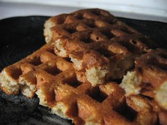 Whole Grain Apple Waffles