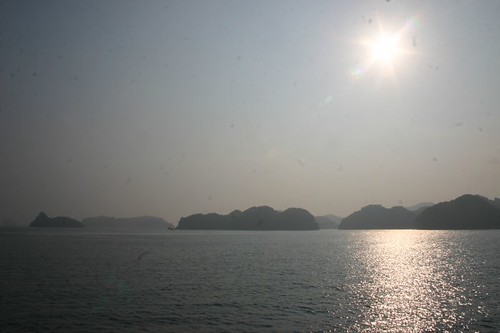 Halong Bay in the afternoon light...