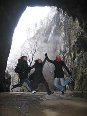 Jumping visitors (stian_kvil) Tags: jump jumping slovenia cave kocjan