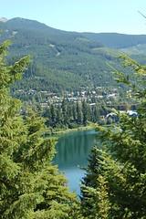 Alta Lake - Whistler - BC - Canada - July 2006 (GeordieMac Pics) Tags: trees mountain lake canada mountains water reflections d50 whistler nikon bc altalake specnature geordiemac 2006georgemcvitieallrightsreserved
