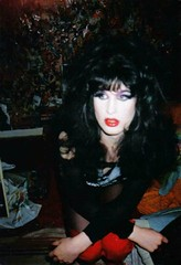 Holly  Cock 1994 #1 (Luis Drayton) Tags: music rock trash drag glamour punk band makeup holly transgender rockmusic tranny transvestite punkrock glam dragqueen genderqueer rockandroll glamourpuss sixinchkillaz queercore glamourpussy hollycock