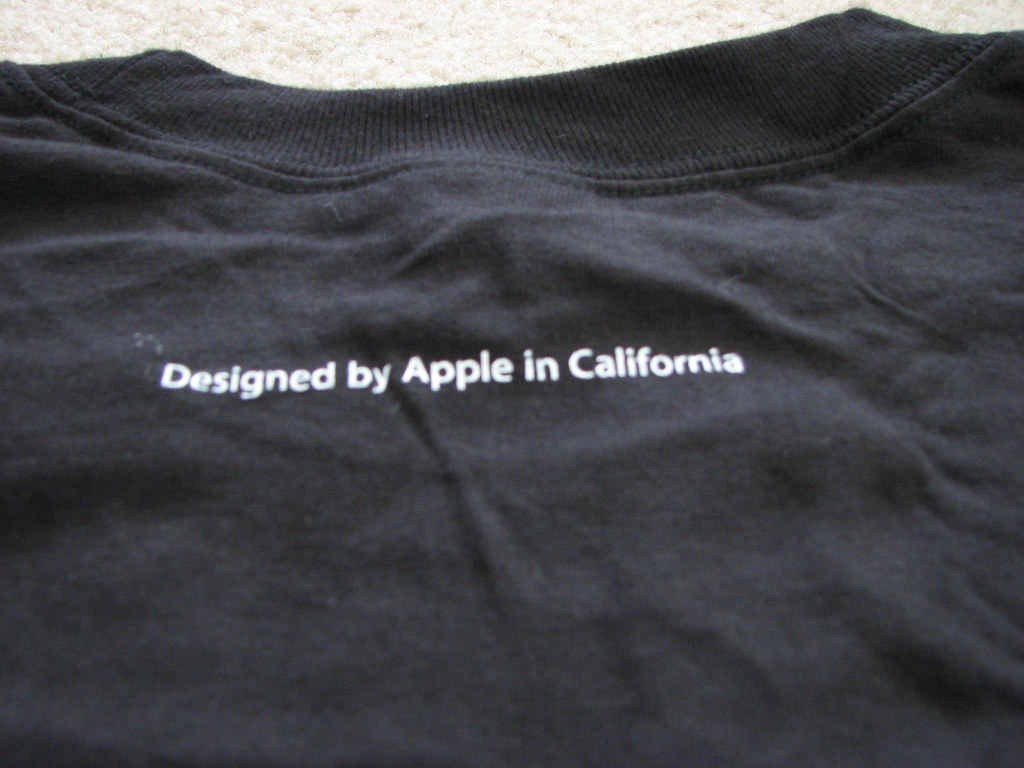 Back: Apple Store Grand Opening T-Shirt