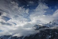Ciel tourment / Contorted sky (Laurence TERRAS) Tags: winter sky mountain france mountains alps nature clouds montagne alpes landscape nikon bravo europe hiver explore ciel nuages paysage montagnes 1000views queyras ceillac hautesalpes 1500views d80