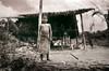 Young Girl at Bird House (Films4Conservation) Tags: film sumatra indonesia conservation sumatrantiger