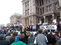 Stop the Coal Rush rally