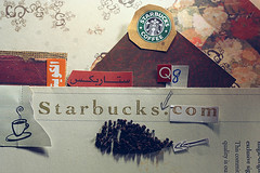 + Only StarBucks Q8 + (Nasser Bouhadoud) Tags: camera art collage canon paper eos 350d idea words starbucks only com kuwait coffe nasser discover q8 saher qatari allil saherallil