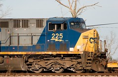 CSX 225 (K. W. Sanders) Tags: train geotagged diesel canon20d 123 321 locomotive 1on1 csx canon400mmf56l napg