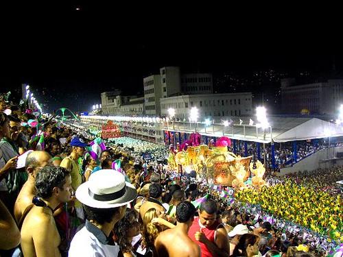 carnival parade - Carnaval- Rio de Janeiro - Brazil