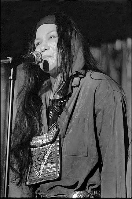Poet Diane Burns (1957-2006)