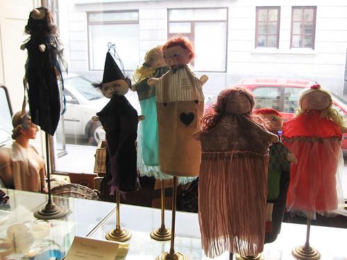 Marionetas en el Café Marais