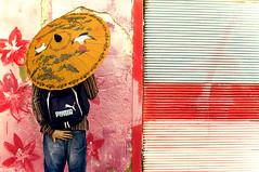 the color (Lena Utro) Tags: street city art telaviv flickr cityscape faces surround concept conceptual bildings