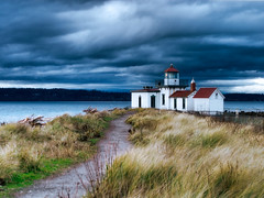 discovery park lighthouse - by wildpianist