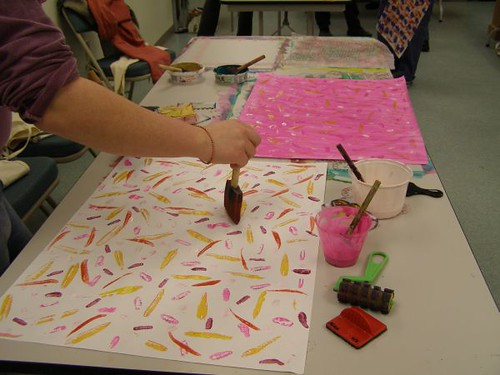 Paste Paper Workshop on Sunday, Feb 25