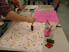 Paste Paper Workshop on Sunday, Feb 25