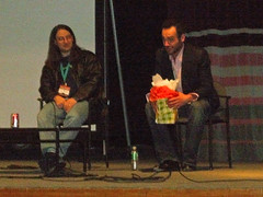 Jim Butcher & Paul Blackthorne