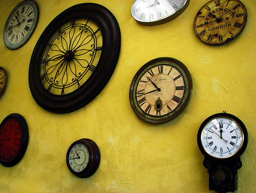 Wall of Clocks by rustman.
