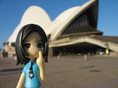 Sayuri at the Opera house