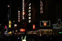 Jacobs and other signs (Eric Dupuis) Tags: city windows ny newyork art architecture buildings newyear timesquare 2007 ericdupuis