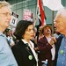 Craig Murray, Bianca Jagger and Tony Benn