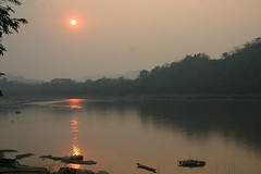 Mekong River sunset...