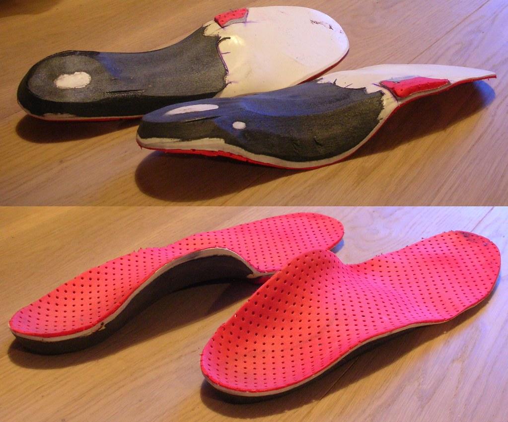 Ski-boot inserts