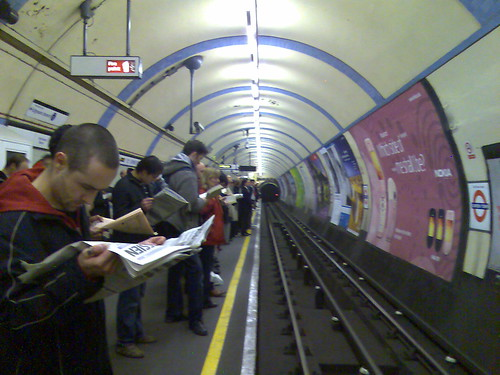 Camden Town tube station station by markhillary