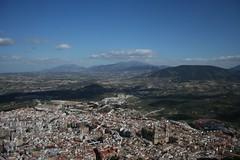 Jaén desde el Castillo de Santa Catalina