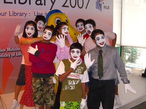 """I Love My Library 2007"" - The Mimes, Assumption English School & NLB Librarians"