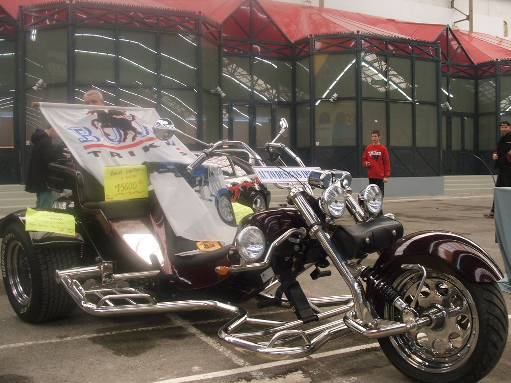 Dijon expo 3 wheel motor bike