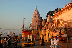 morning in varanasi #5 (prabhat_photo) Tags: india temples varanasi ghat
