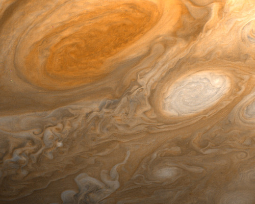 Jupiter view from Voyager (NASA)