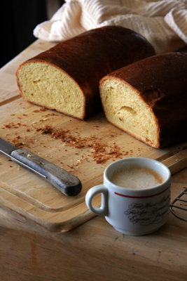 Browned Butter and Vanilla Bean Brioche