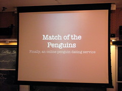 BarCampBoston2 Programming Contest entries: Match of the Penguins