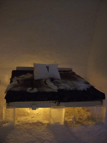 Ice Hotel - Ice Room