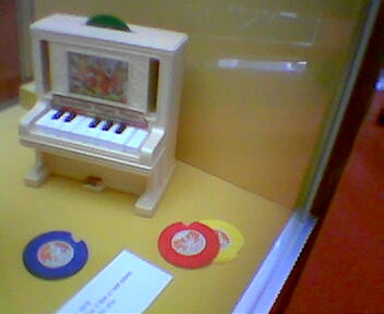 Musical toy at Bethnal Green Museum of Childhood